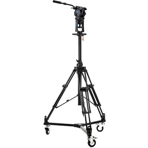 Acebil PD1800 Pro Pedestal with H70 Head / D5 Dolly / and Carry Case