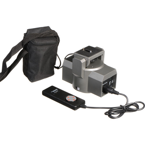 Bescor MP-1B Motorized Pan Head with 90-645 Battery and BC-665R Charger