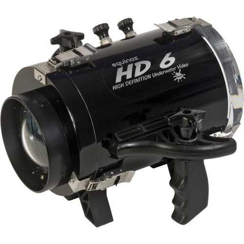 Equinox HD6 High Definition Underwater Video Housing for Panasonic HDC-HS80 Camcorder