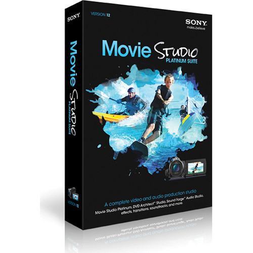 Sony Movie Studio Platinum Suite 12 (5-99 License Agreement)