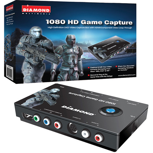 Diamond USB 2.0 GC1000 HD 1080i Game Console Video Capture Device