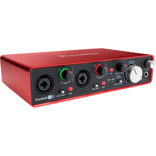 Focusrite Scarlett 2i4 - USB Audio Interface
