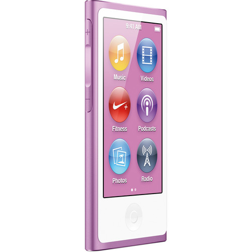 Apple 16GB iPod nano (Purple, 7th Generation)