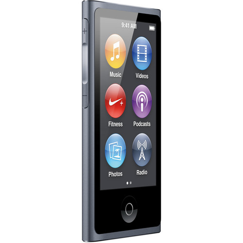 Apple 16GB iPod nano (Slate) (7th Generation)