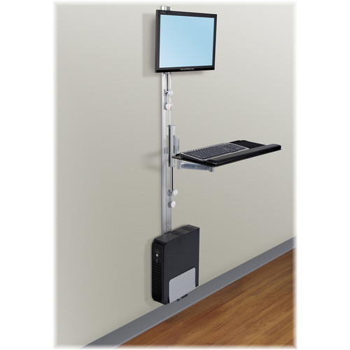 Tech Tables Apollo 6-EC PAC Economy 6 Track Wall Mount Station (Silver)