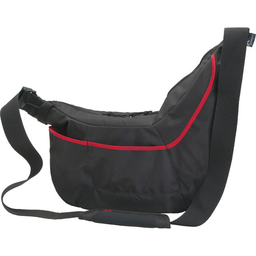 Lowepro Passport Sling II Bag (Black/Red)