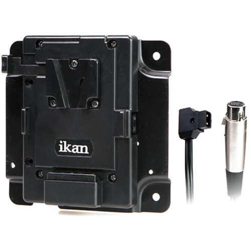 ikan PBK-S-X Pro Battery Adapter Kit with XLR P-Tap