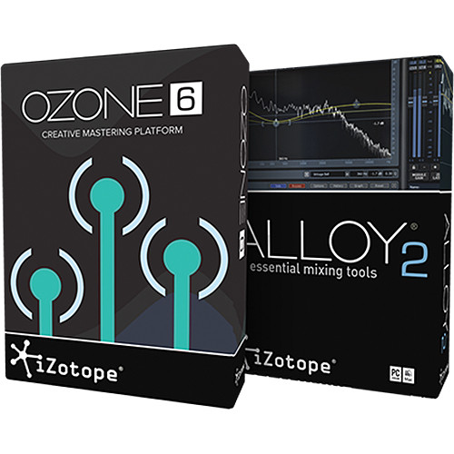 iZotope Mix & Master Bundle - Audio Effect Suite for Mixing and Mastering