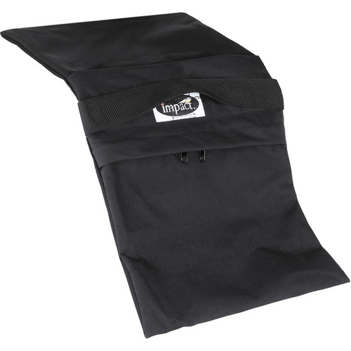 Impact Empty Saddle Sandbag Kit, Set of 6 - 27 lb (Black)