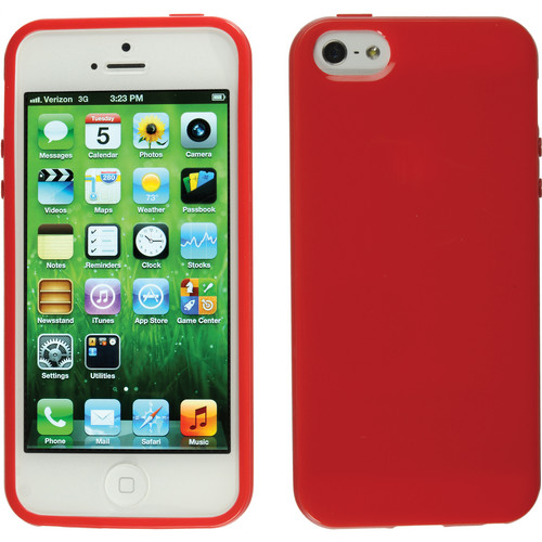 Xuma Flex Case for iPhone 5 & 5s (Red)