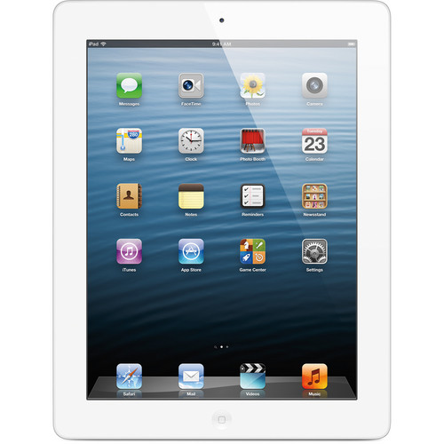Apple 16GB iPad with Retina Display and Wi-Fi (4th Gen, White)
