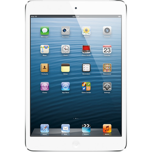 Apple 32GB iPad mini with Wi-Fi and 4G LTE (Verizon, White & Silver)
