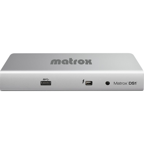 Matrox DS1/DVI Thunderbolt Docking Station for MacBook Pro and MacBook Air