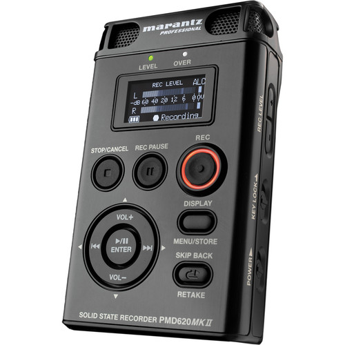 Marantz PMD620 MKII Portable Stereo Flash Recorder