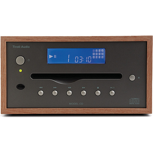 Tivoli Model CD Player (Cherry/Metallic)