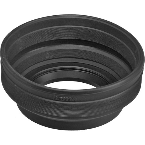 Hama 77mm Screw-In Rubber Zoom Lens Hood for 24mm to 210mm Lenses
