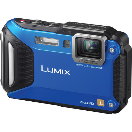 Panasonic Lumix DMC-TS5 Digital Camera (Blue)