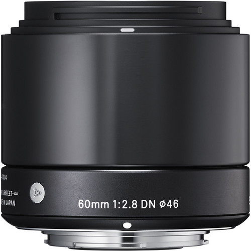 Sigma 60mm f/2.8 DN Lens for Micro Four Thirds Mount Cameras (Black)