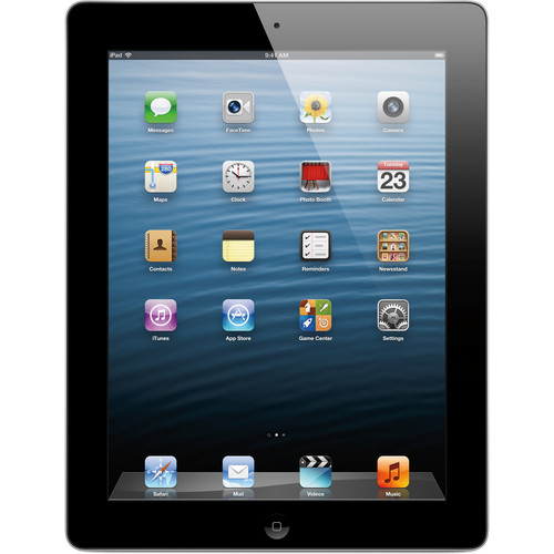 Apple 128GB iPad with Retina Display and Wi-Fi + 4G LTE (4th Gen, Verizon, Black)