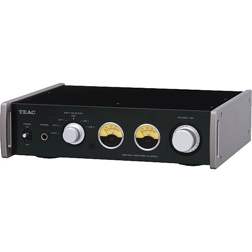 Teac AI-501DA-B Integrated Amplifier with USB Streaming (Black)