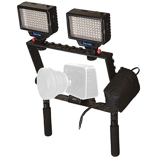 Bescor BM-K1 LED-70 Power and Light Kit for Blackmagic Cinema Cameras