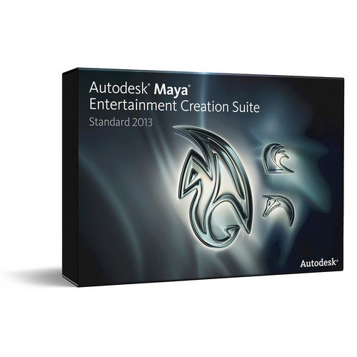 Autodesk Maya Entertainment Creation Suite Standard Commercial Subscription with Advanced Subscription (1 Year)