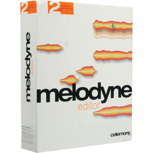 Celemony Melodyne Editor 2.0 - Polyphonic Pitch Shifting/Time Stretching Upgrade (Add 1 License)