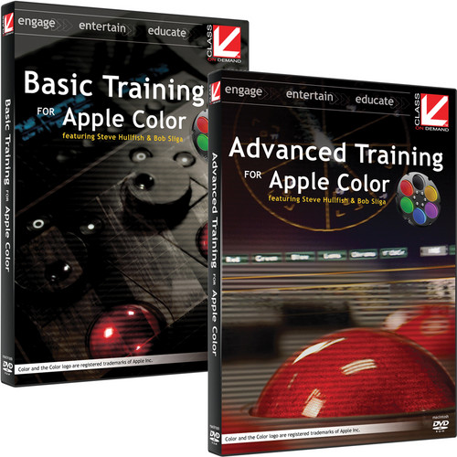Class on Demand Video Download: Basic and Advanced Training for Apple Color