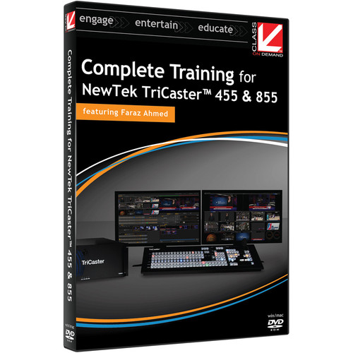 Class on Demand Video Download: Complete Training for TriCaster 455 & 855