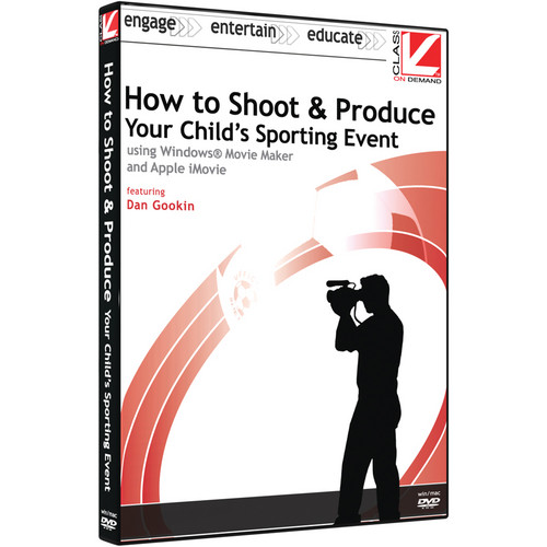 Class on Demand Video Download: How to Shoot & Produce Your Child's Sporting Event