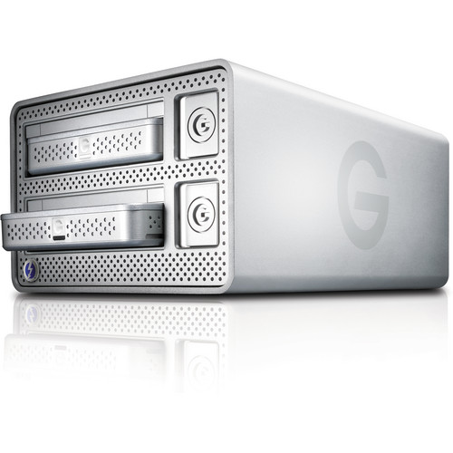 G-Technology 2TB G-DOCK ev Portable USB 3.0 HDD