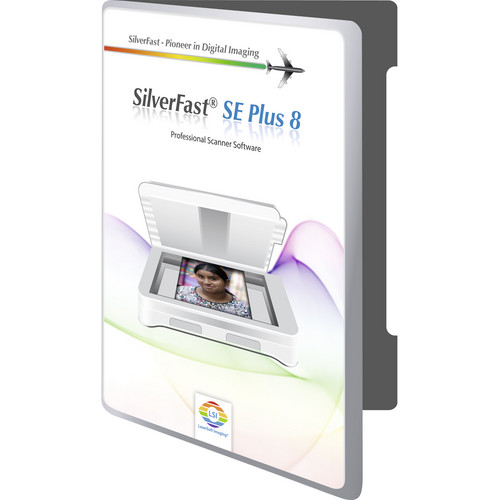 LaserSoft Imaging SilverFast SE Plus 8 Scanner Software for Epson Perfection v300