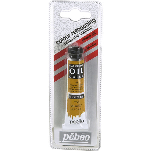 Pebeo Oil Color Paint: No.41 Yellow Ochre - 3/4x4