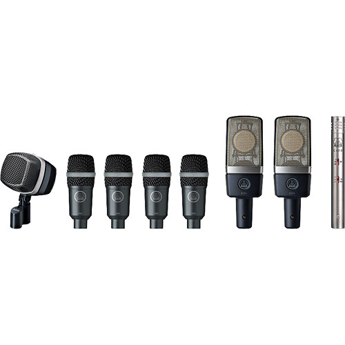 AKG Drum Premium Microphone Set