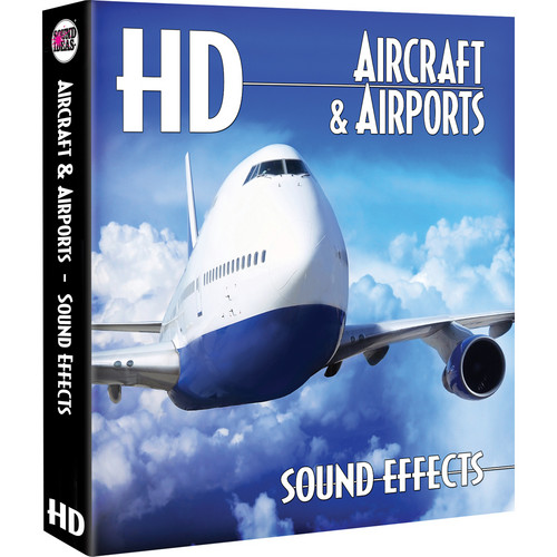 Sound Ideas Aircrafts & Airports HD Sound Effects Hard Drive for Windows