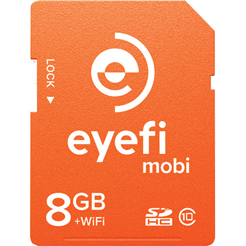 Eyefi 8GB SDHC Mobi Wireless Class 10 Memory Card