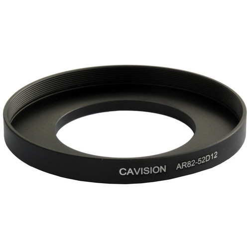 Cavision 52mm to 82mm Threaded Step-Up Ring