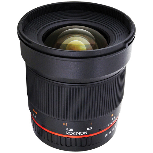 Rokinon 16mm f/2.0 ED AS UMC CS Lens for Samsung NX Mount Cameras