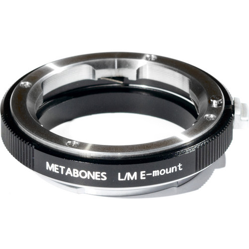 Metabones Leica M Mount Lens to Sony NEX Camera Lens Mount Adapter (Black)