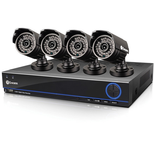 Swann DVR4-3200 4-Channel 960H Digital Video Recorder & 4 PRO-642 Camera System