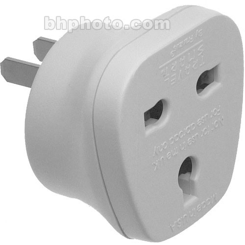 Adapter Plug NW7C - Allows Grounded 3-Prong UK Devices to be used with  Ungrounded 2-Prong Power Supplies in the USA