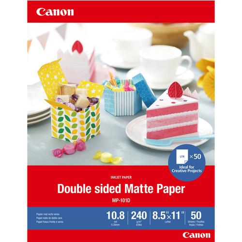 "12x12/"" 50 Sheets Double-Sided Inkpress Duo 80 Inkjet Matte Photo Paper"