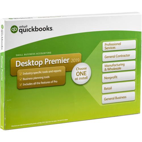 Compare Intuit QuickBooks Premier 2019 Download, 1-User vs
