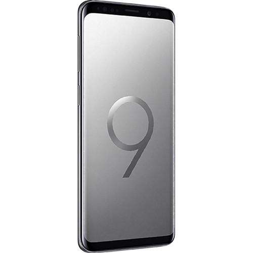 Galaxy S9 SM-G9600 Dual SIM 64GB Smartphone (Unlocked, Gray)
