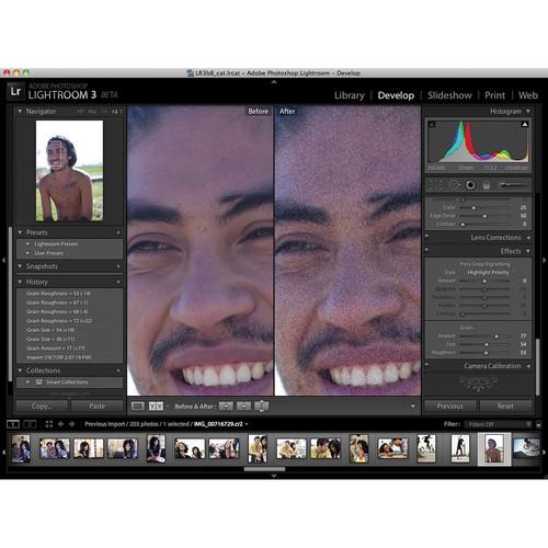 Adobe Photoshop Lightroom 3 Software for Mac & 65081059 B&H