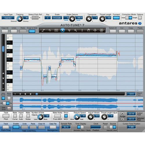 Antares Audio Technologies Auto-Tune Vocal Studio TDM - 37005