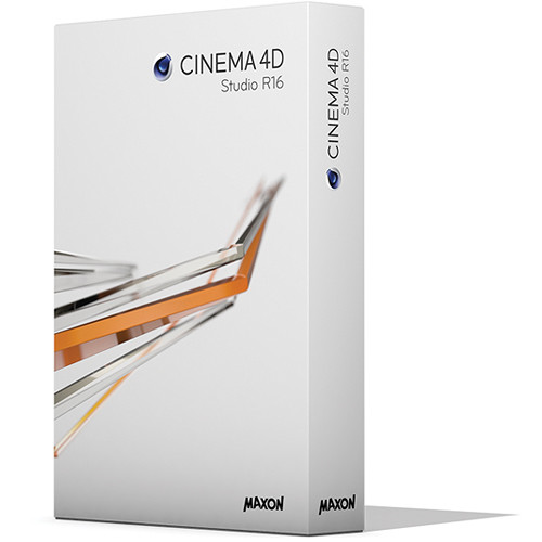 Maxon CINEMA 4D Studio R16 Educational (Download)