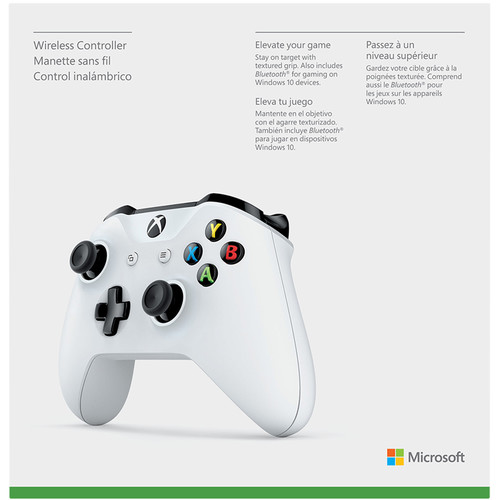 Xbox One Wireless Controller (White)