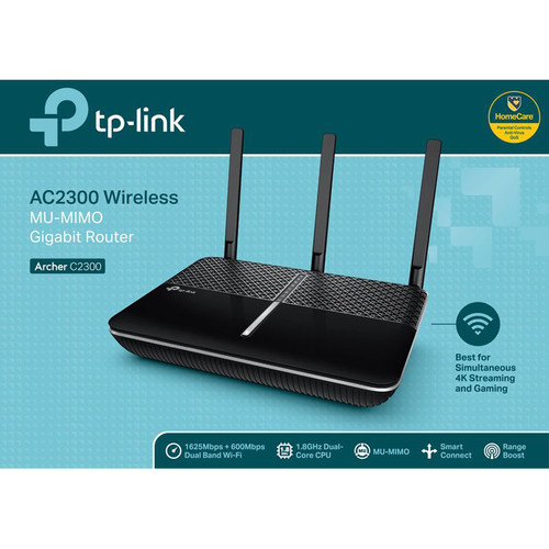 Compare TP-Link Archer C2300 Wireless-AC2300 Dual-Band Gigabit