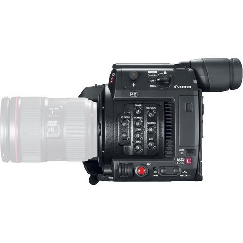 Compare Canon C300 Mark II vs Canon C200 | B&H Photo